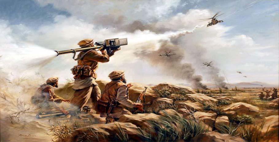 «Стингеры» в Афганистане