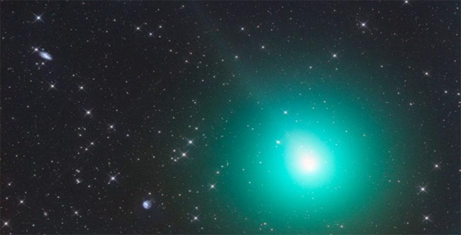 ALMA обнаружил синильную кислоту в ядре кометы Виртанена