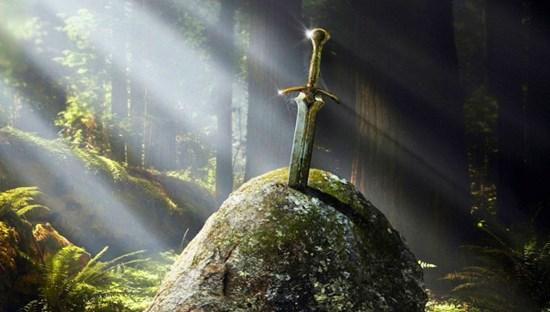 Экскалибур: меч в камне
