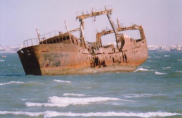 Знаменитые кладбища кораблей