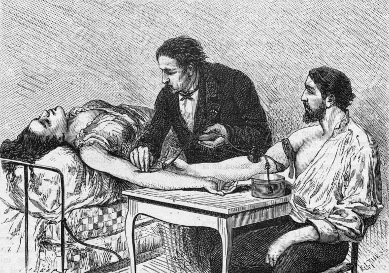 История переливания крови. Как это было