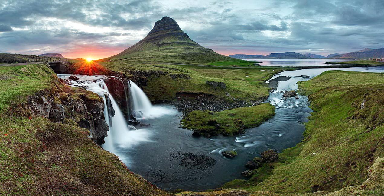 Исландия — родина викингов, страна эльфов