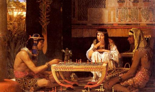 Как появились шашки