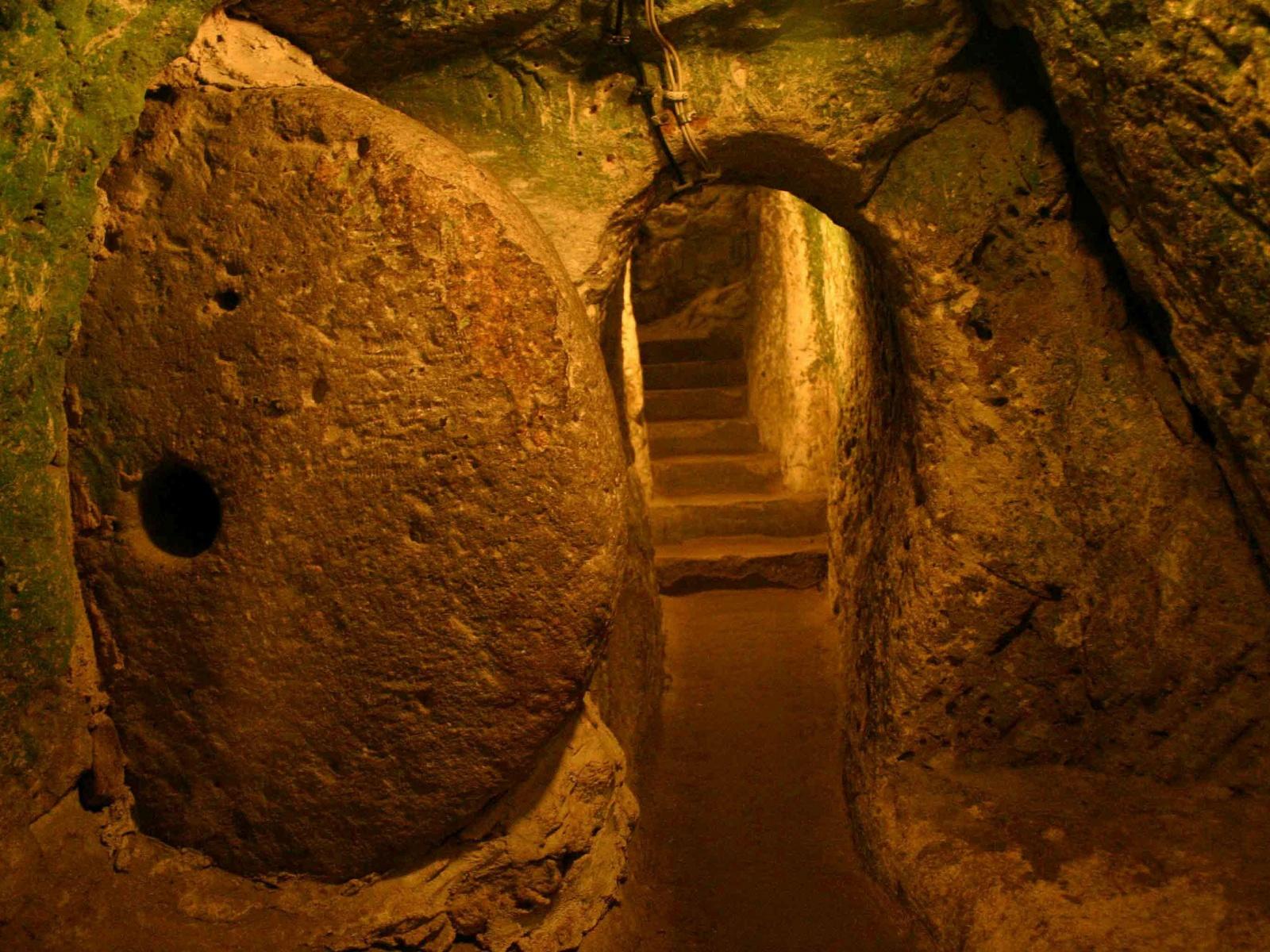 Подземные тоннели древних жителей Европы