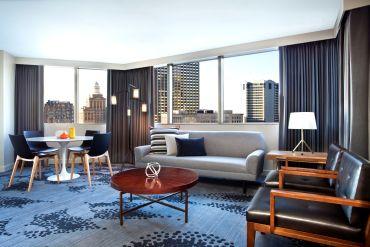 Photo of Le Meridian Luxury Suite Sitting Room