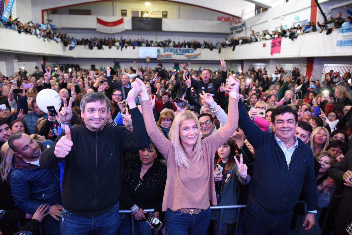 """Máximo Kirchner pidió """"que nadie se deje engañar"""" en estas elecciones"""