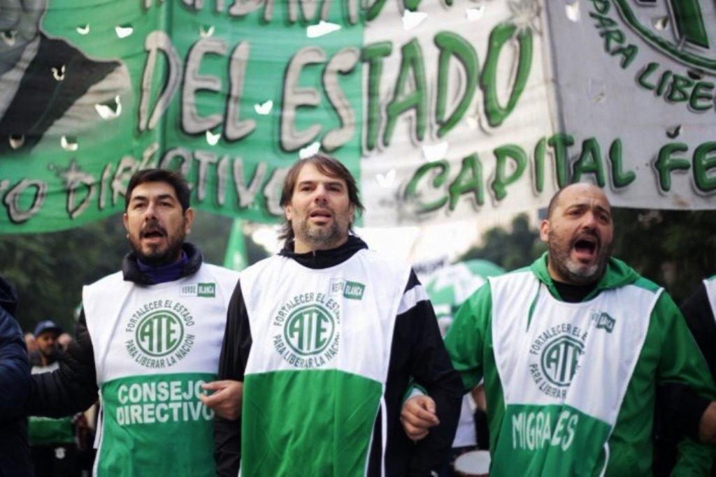 Tensión en ATE Capital: le reclaman a Macri y Larreta reapertura de paritarias