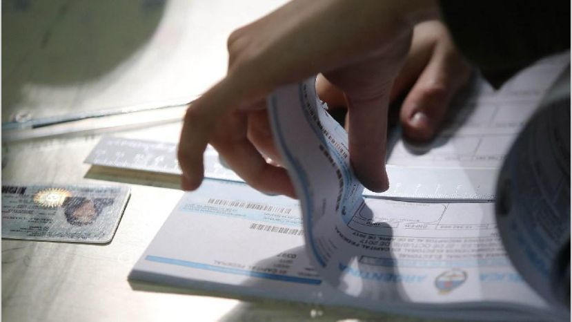 ¿Que tipo de votos se pueden emitir en las PASO?