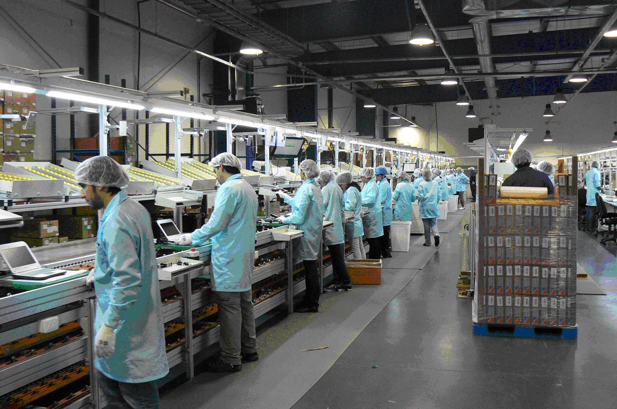 La industria cayó 6,9% en junio
