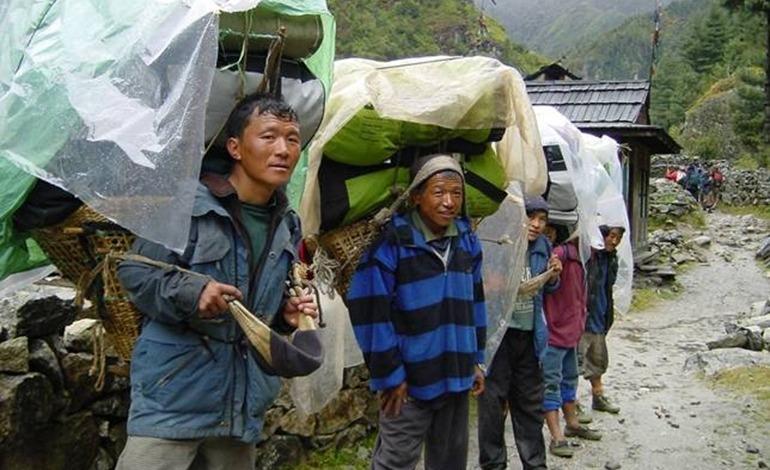 sherpas porters