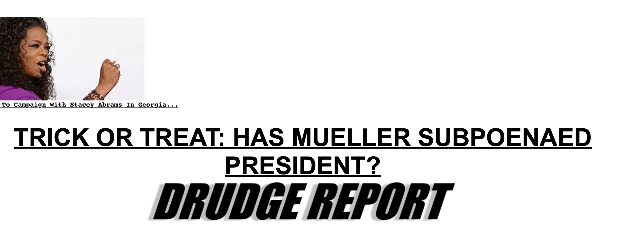 Has Robert Mueller Really Subpoenaed Trump