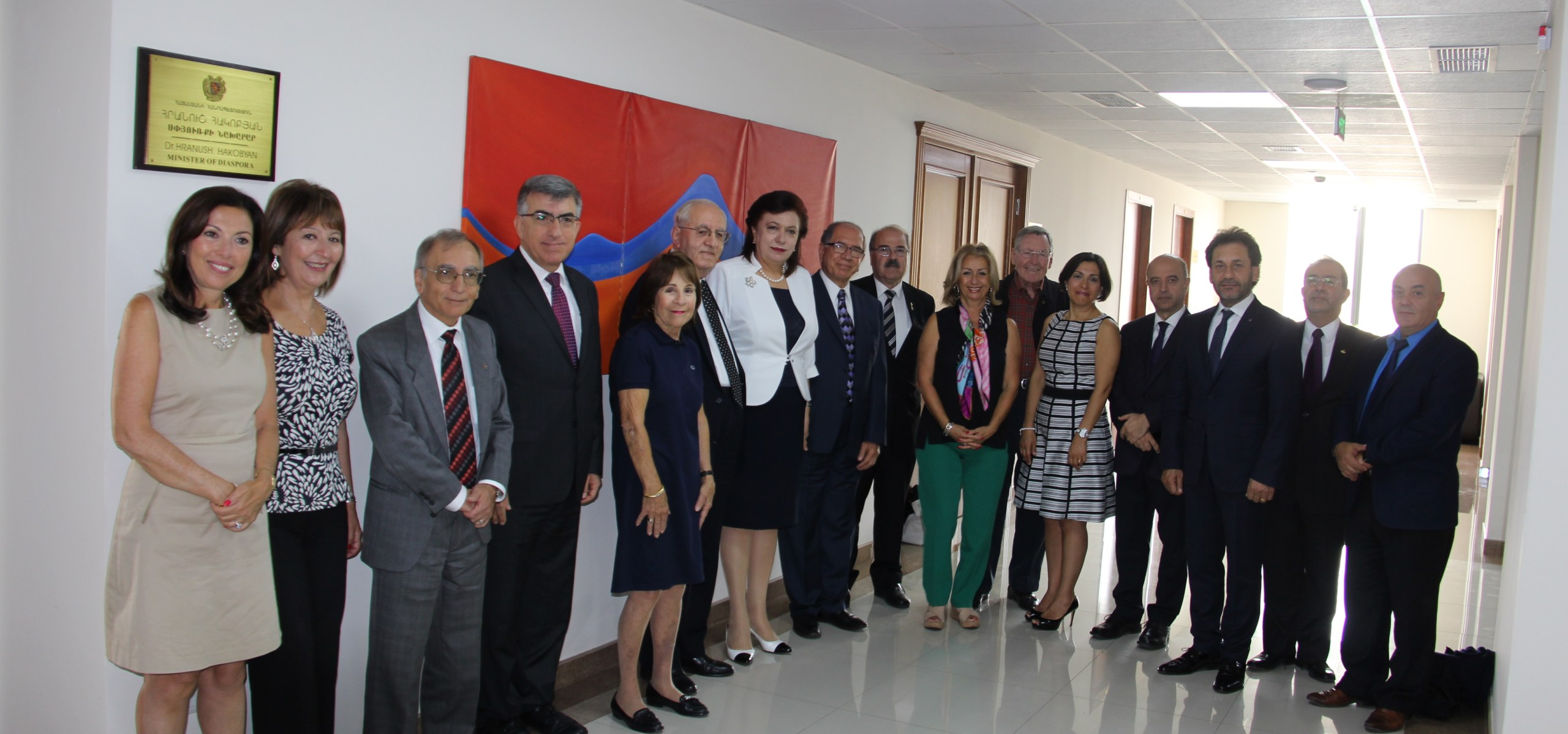 The Minister of RA Diaspora, Hranush Hakobyan Receives the