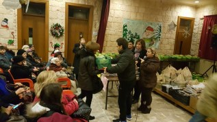 Distribution of Food Baskets on Christmas