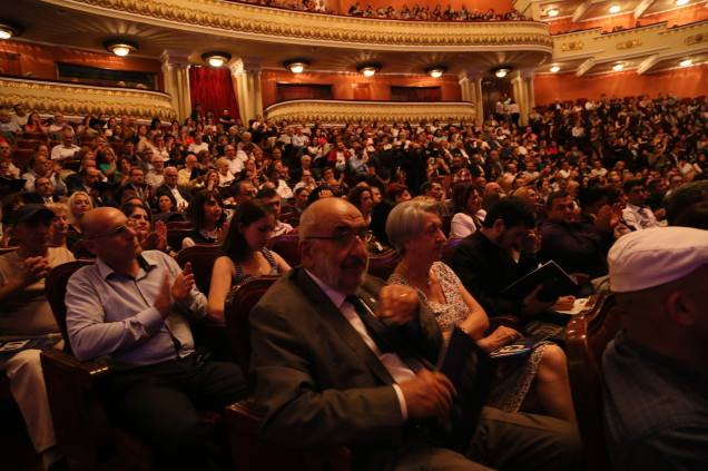 Packed house at The Yerevan Opera House