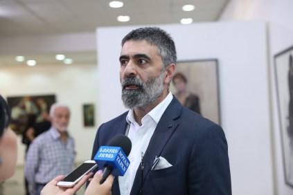 Vrej Kassouny, Artist and Exhibit Curator