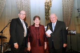 Zaven Khanjian with Patricia and Gerald Turpanjian