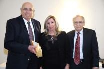 L to R: Louis Kurkjian, Dr. Hasmig Baran and Dr. Nazareth Darakjin