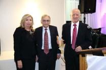 L to R: Dr. Hasmig Baran, Dr. Nazareth Darakjian and Dr. Vahe Nalbandian