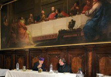 Archbishops Boghos Lévon Zékiyan and Khajag Barsamian