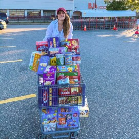 Miss Boston, Kristina Ayanian, to donate food for the Crossroads Family Shelter in Boston.