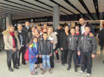 Syrian Armenian families arrive at Zvartnotz Airport