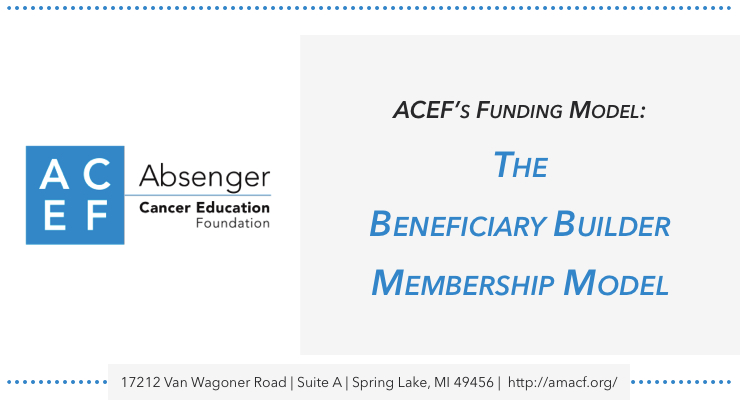 Absenger-cancer-education-funding-model