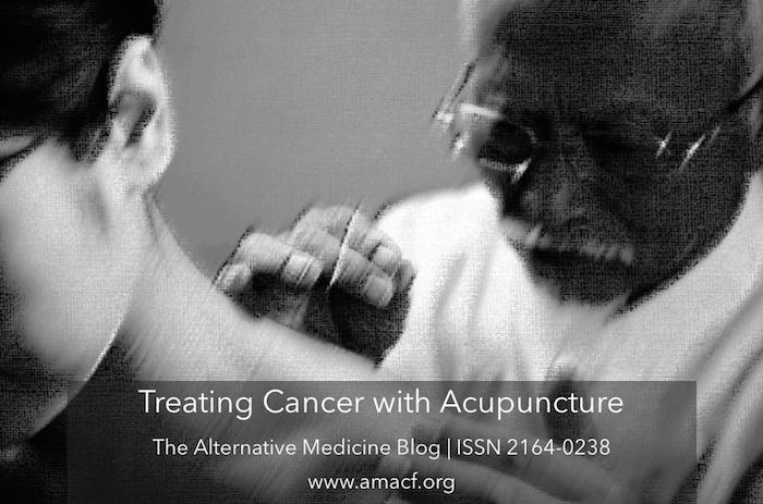 Treating Cancer with Acupuncture can be beneficial to cancer patients in a variety of ways