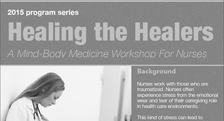 Image of Healing the healers mind body medicine workshop announcement