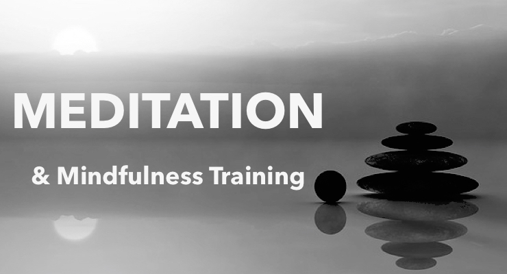 guided meditation and mindfulness training
