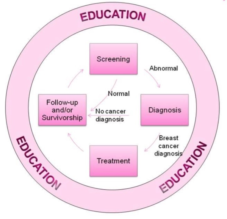 This is an image of ACEF-breast-cancer-survivorship-program-contiuum-of-care