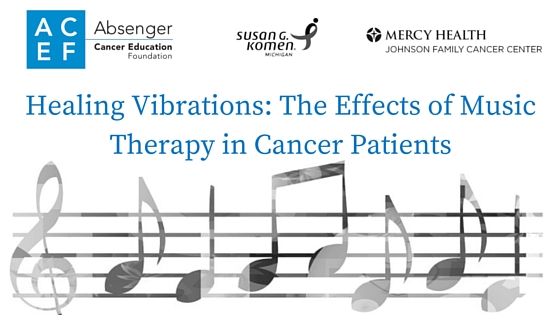 Healing vibrations-effects of music therapy in cancer patients