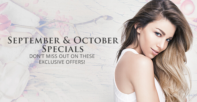 September and October specials!