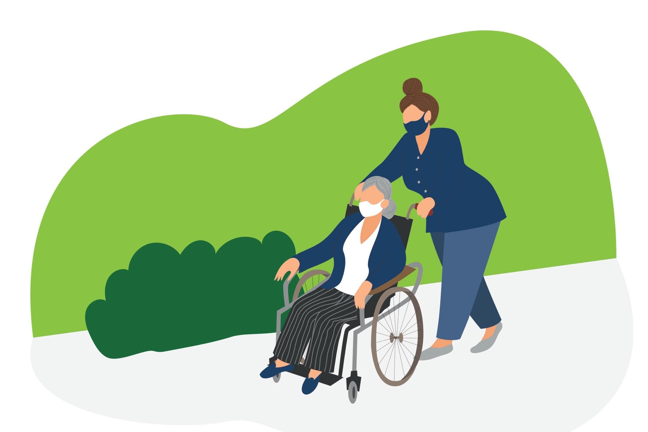 Accompagnement des personnes âgées à domicile canton de Vaud