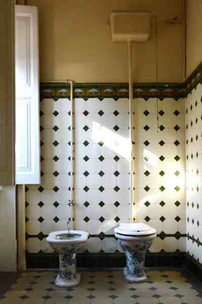 beautiful toilet