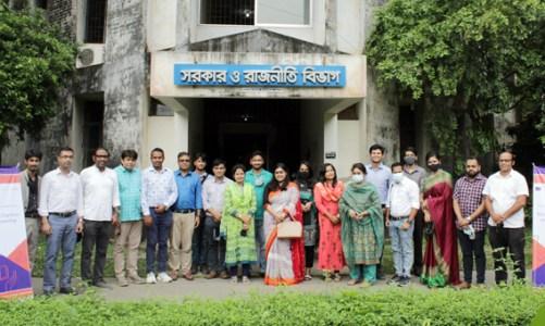 জাহাঙ্গীরনগর বিশ্ববিদ্যালয়ের শিক্ষকরা ডিজিটাল সিটিজেনশিপ শিক্ষা প্রচারে সোচ্চার