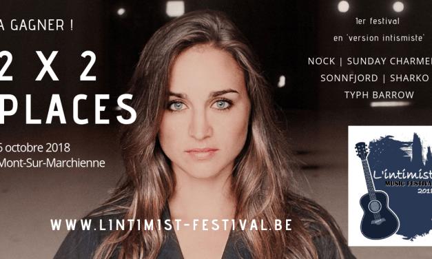Gagnez 2×2 places pour la première édition de l'Intimist Music Festival (6/10)