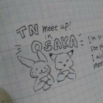 Akari-san drew me as a fox ^^