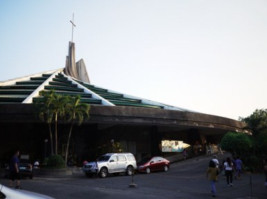 Immaculate Heart of Mary Parish Church designed by Architect `Lindy' Locsin