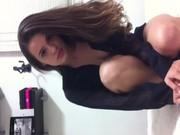 Novinha safadinha de Campinas-SP caiu na net em vídeo vazado pelo ex-namorado corno