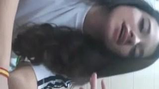 Ninfeta tesuda vazou peladinha no whatsapp em video pro namorado