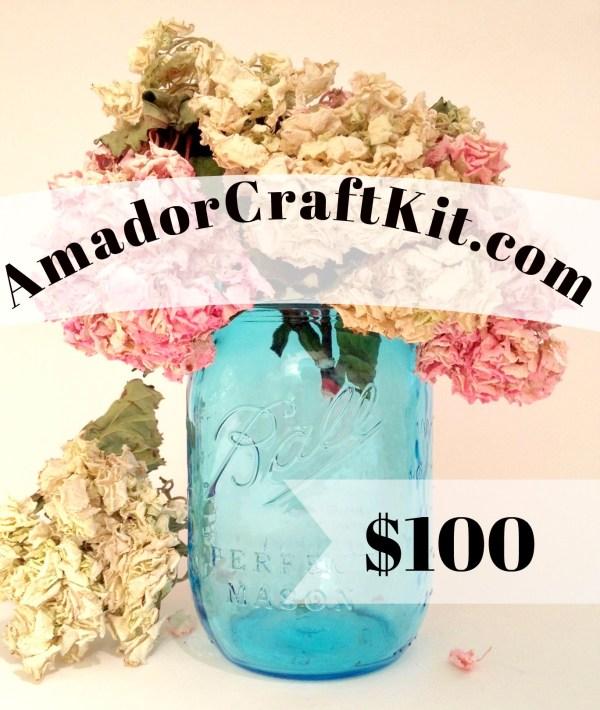 $100 Gift Card AmadorCraftKit.com