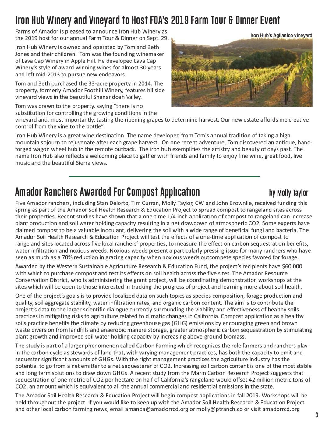 Summer 2019 newsletter pg 3