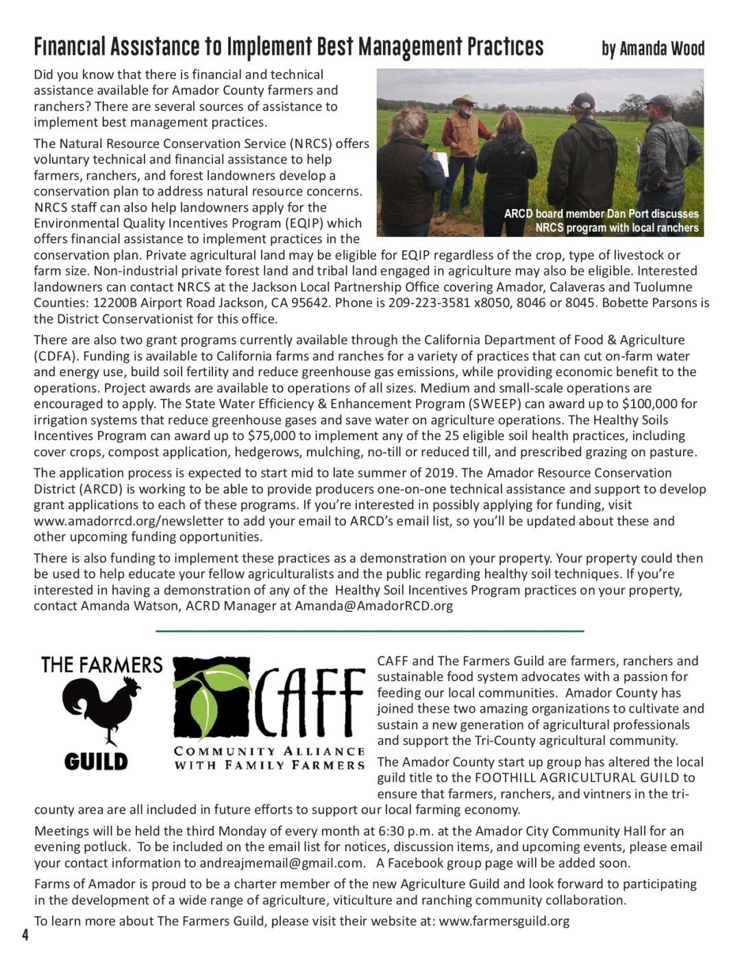 Summer 2019 newsletter pg 4