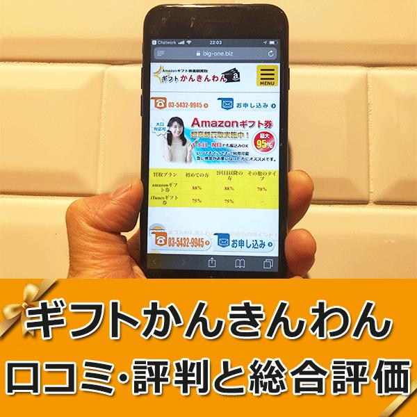 ギフトかんきんわんのレビュー【口コミ・評判】