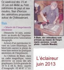 L'éclaireur, juin 2013