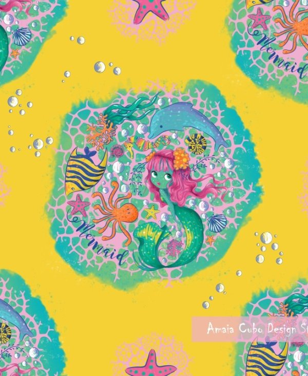 MERMAID PATTERN - AMAIA CUBO DESIGN STUDIO