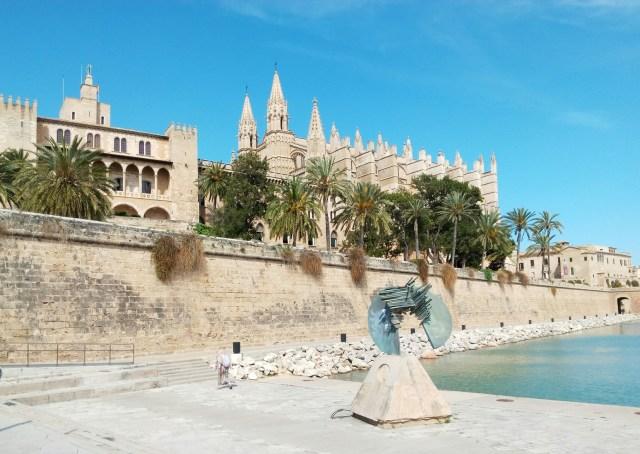 La Cattedrale di Palma e l'Almudaina
