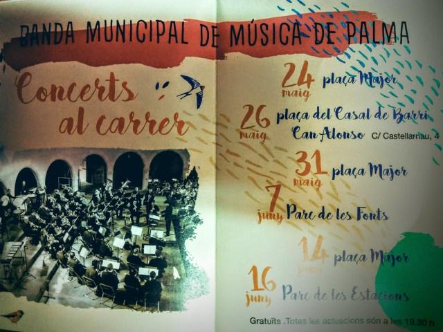 Palma de Primavera, Banda Municipale di Musica di Palma