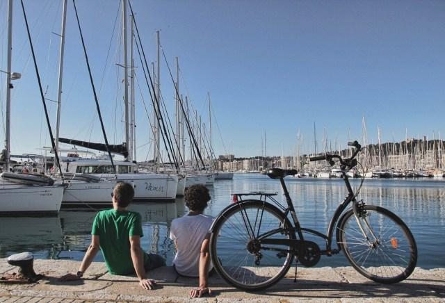 Portixol in Bici, Palma di Maiorca