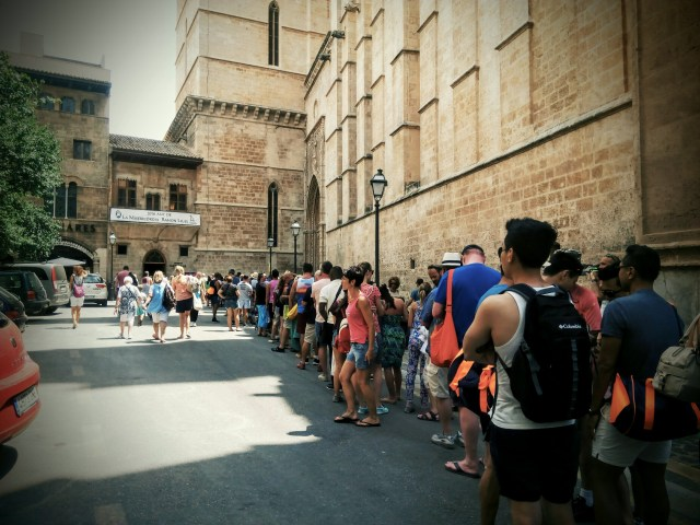 Cattedrale di Palma, Code d'Agosto!